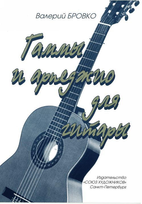 Scales and arpeggios for guitar