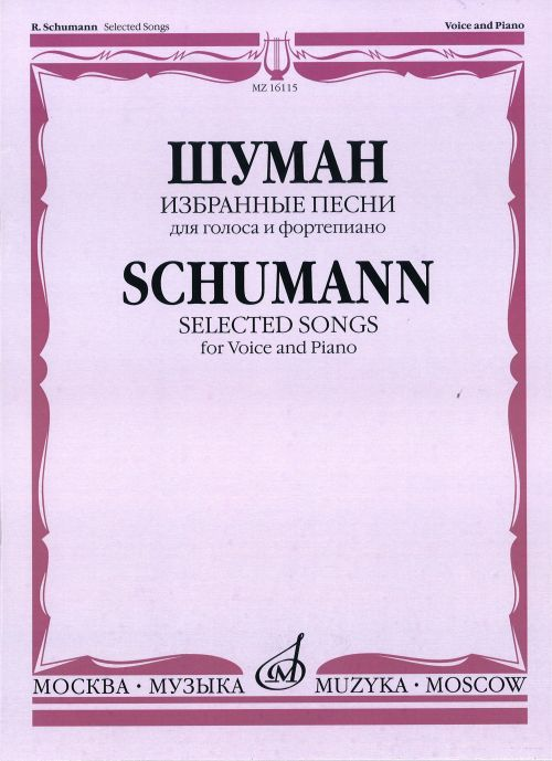 Selected Songs for Voice & Piano