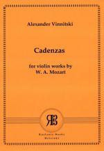 Alexander Vinnitski. Cadenzas for Violin Works by W. A. Mozart. For Violin Solo