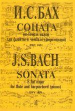 Sonata E flat major for flute and harpsichord (piano) BWV 1031