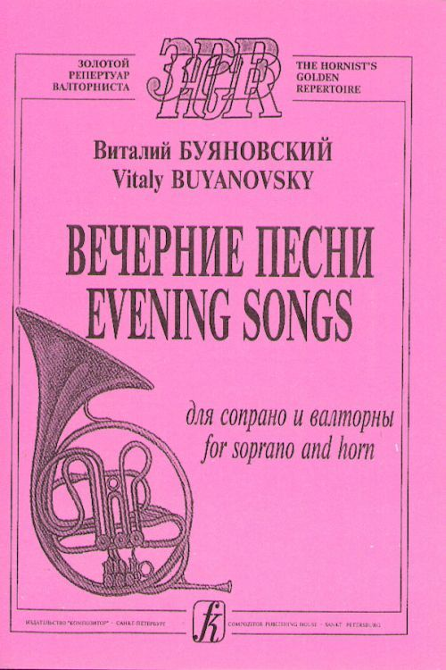 Evening songs for soprano and horn