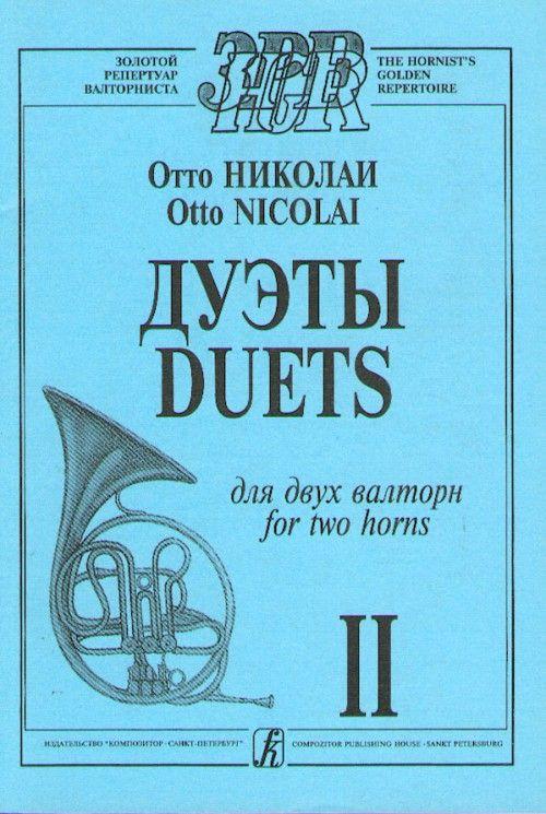 Duets. Volume II