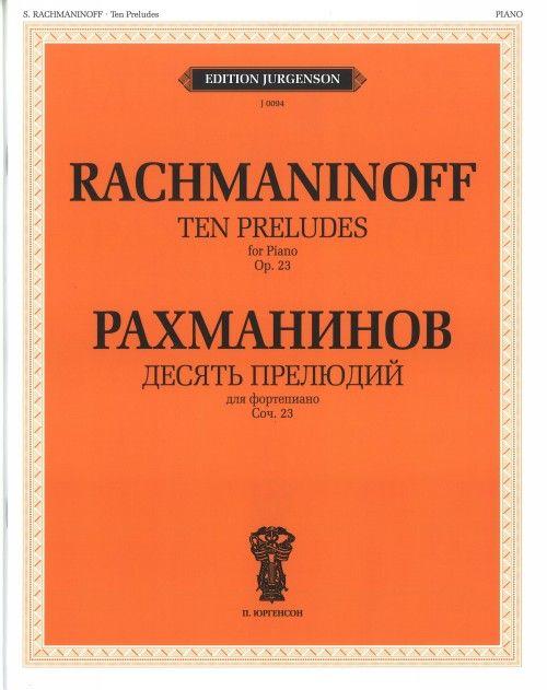 Ten Preludes for Piano. Op. 23