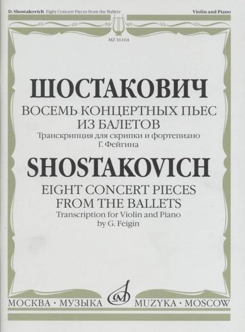 Eight Concert Pieces from the Ballets  Transcription for