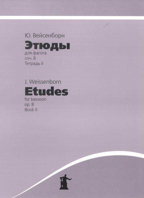 Etudes for Bassoon. Op. 8, Book II