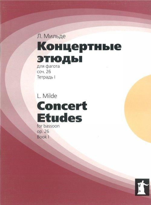Concert Etudes for Bassoon. Op. 26. Vol. I