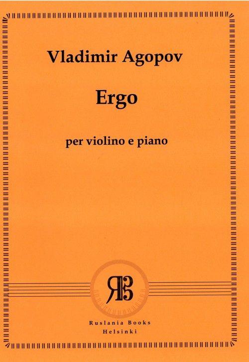 Ergo per violino e piano