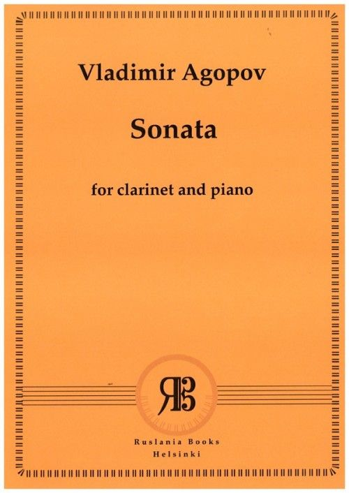 Sonata for clarinet and piano op. 6