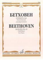 Sonata No 8 Patetique. Ed. by Goldenweiser