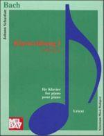 Bach: Klavierubung I 6 Partiten BWV 825-830