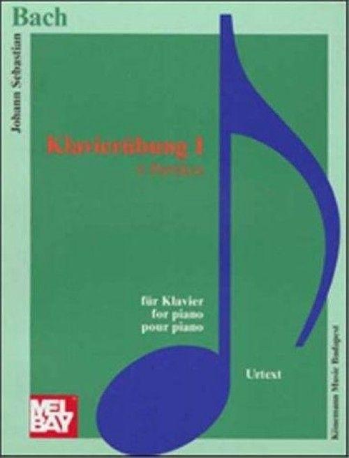 И.С. Бах. 6 партит для клавира BWV 825-830