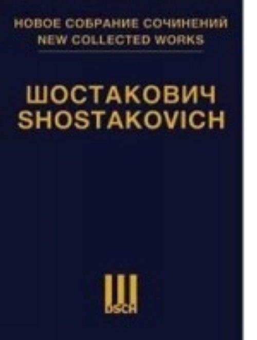 "New Collected Works of Dmitri Shostakovich. Vol.142. Film music ""Sofia Perovskaya"" opus 132 & ""King Lear"" opus 137. First publishing"