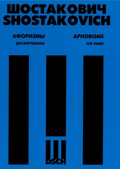 Aphorisms for piano. Op.13