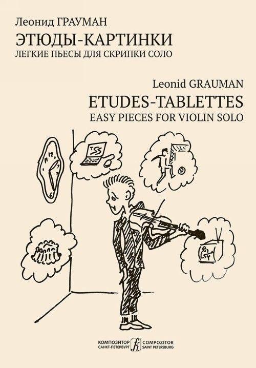 Etudes-tablettes for violin solo