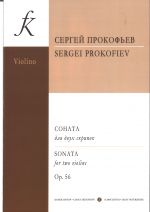 Sonata for two violins. Op. 56. Ed. by D. Oistrakh
