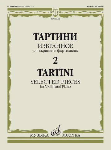 Tartini. Selected pieces - 2 for Violin & piano