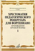 Opetusmateriaalikokoelma pianolle. Musiikkikoulun 7. luokka. 1. osa. Sonaatteja ja sonatiineja. Toim. N. Kopchevski.