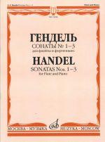 Sonatas No. 1-3 for flute and piano.