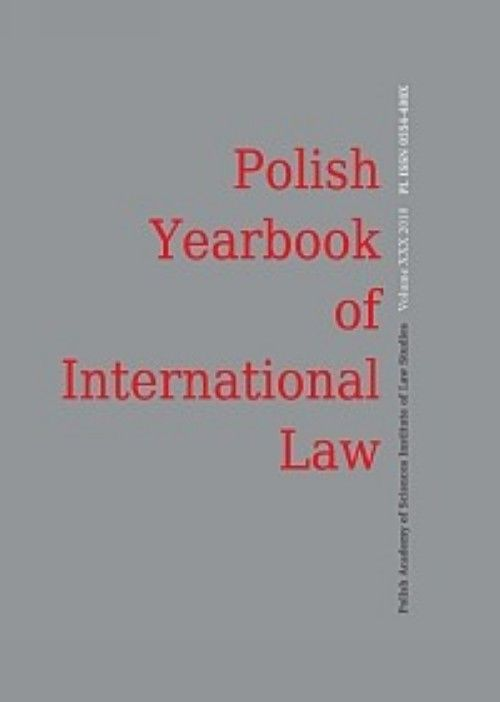 Polish Yearbook of International Law (in English)