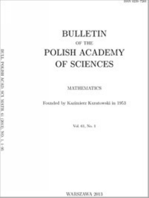 Bulletin of the Polish Academy of Sciences: Mathematics + online versions