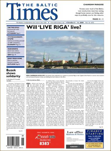 The Baltic Times (English) (Riga)