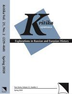 Kritika explorations in Russian and Eurasian history