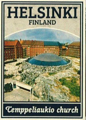 Cпички. Хельсинки - Церковь в скале
