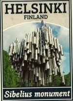 Cпички. Хельсинки - Орган Сибелиуса