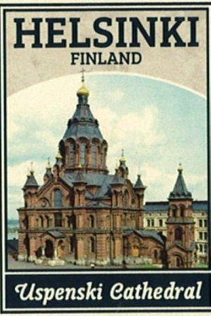 Matches. Helsinki - Uspenski Cathedral