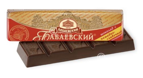 Babaevskij candy bar with fudge