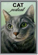 Спички. Европейский короткошерстный кот - Cat portrait