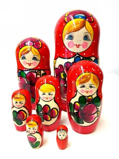 Majdanskaja Matreshka Matryoshka (Nesting doll) 7 mest (Art. 148)