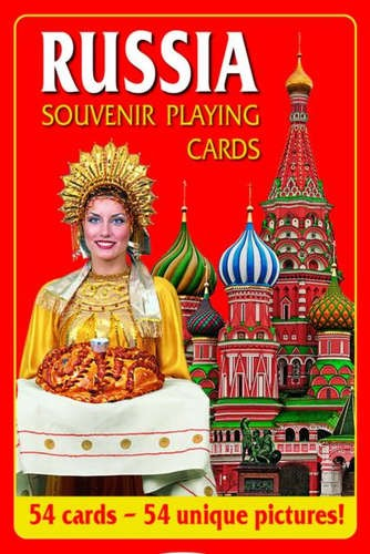 Souvenir playing cards Russia