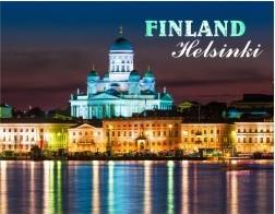 Открытка Finland Helsinki