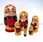 Matryoshka Sudarushka 6 pieces