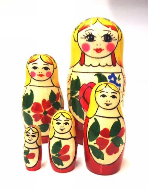Matrioshka Sudarushka 5 pieces