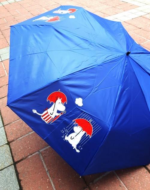Muumi-sateenvarjo. Зонт. Синий