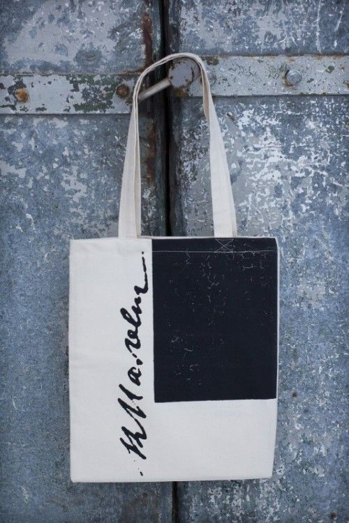 Tote bag Malevich's Black Square