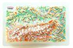 Austria. High raised relief panorama. 3D Fridge magnet