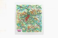 """High-volume panorama """"MOSCOW"""" 3D magnet map"""