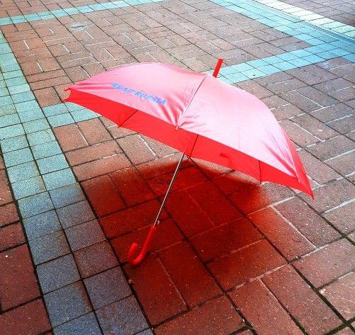 Umbrella. Red