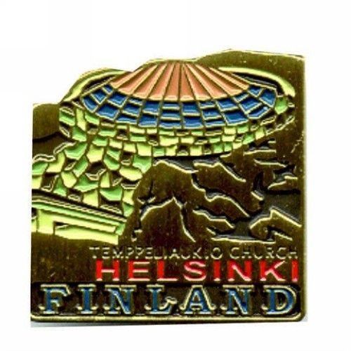 Helsinki Temppeliaukio Pin