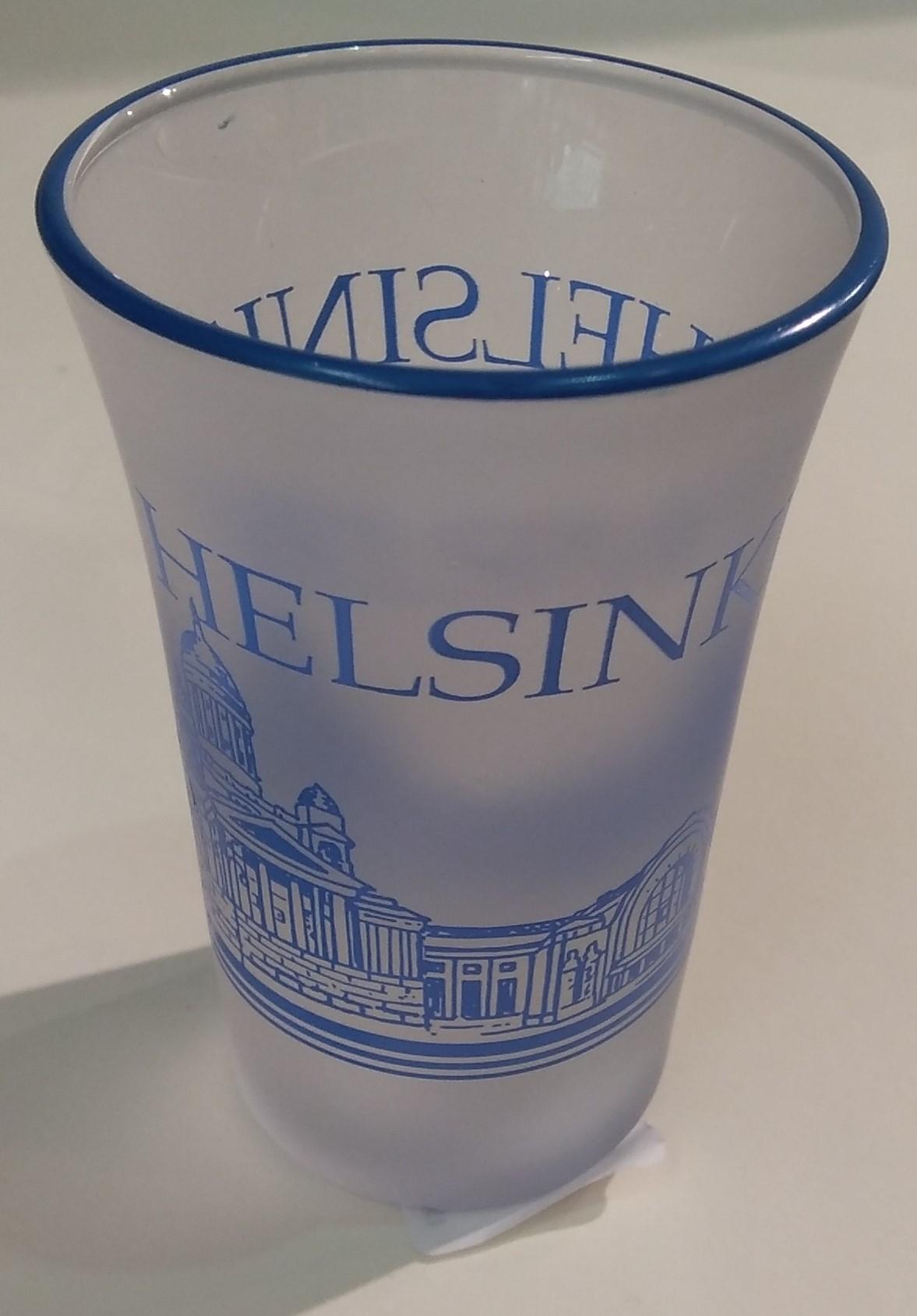 Сувенирная стопка - Хельсинки/ Helsinki shotlasi