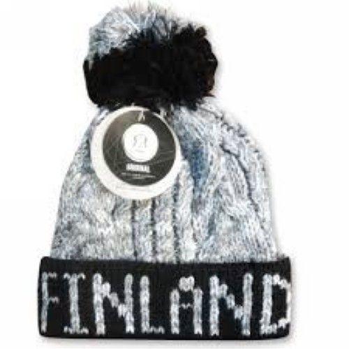 Winter Hat Urban Finland Blac/ Grey