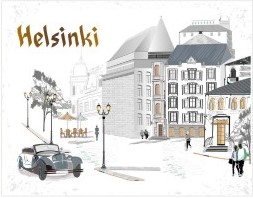 Postcard Helsinki