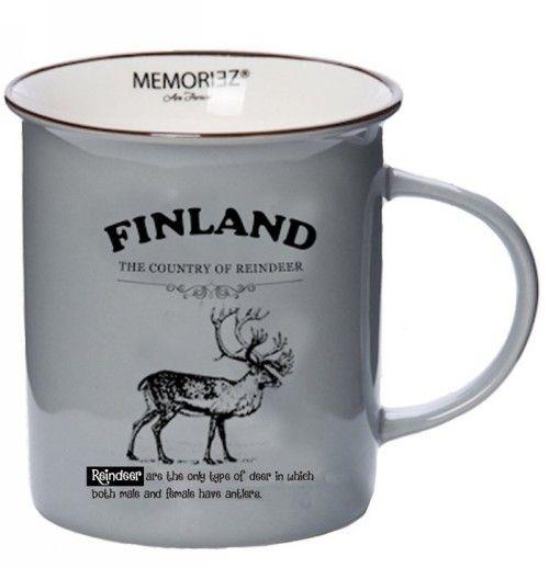 Story Mug Finland Grey