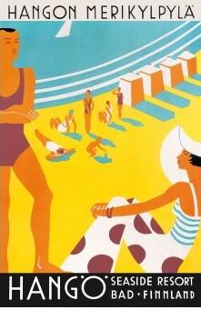 Postcard Hanko Hangö Seaside Resort