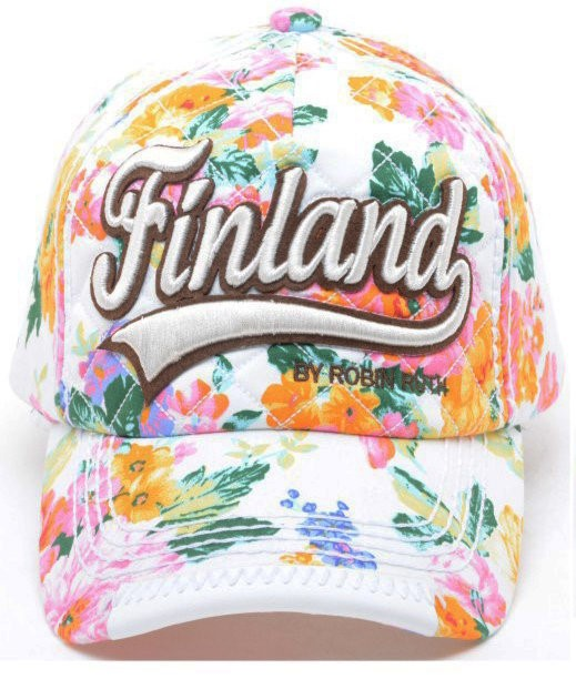 Кепка - Cap Flower Print Finland