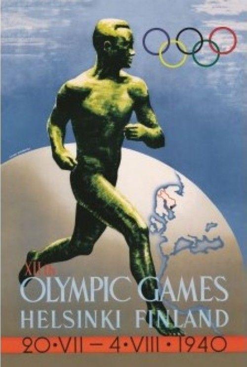 Открытка Olympics 1940