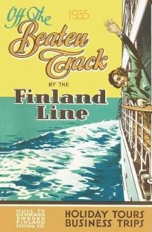 Открытка Off the Beaten Track 1935